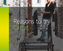 Reasons to try Circuit