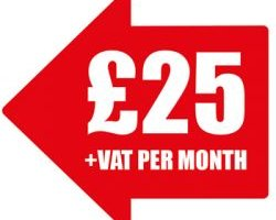 £25 +VAT per month arrow