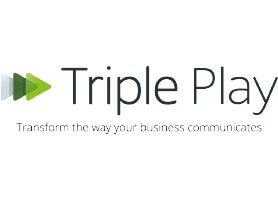 Tripple Play logo - transform the way your business communicates