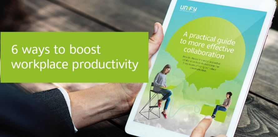 6 ways to boost workplace productivity